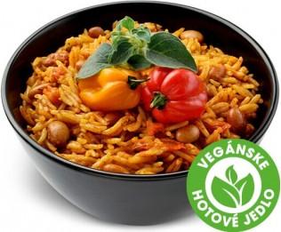Mexická ryža s fazuľou pinto a údeným čili
