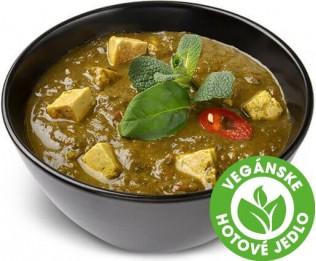 Tofu v špenátovej omáčke