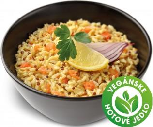 Zeleninová ryža s quinoa semienkami